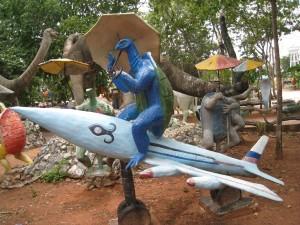 亀と飛行機
