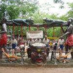 タイ最大の地獄寺(動物編)ワット・パーラックローイ:コラート