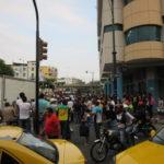 治安最悪でもない:グアヤキルの街には警察官が多い