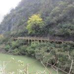 歴史の舞台となった桟道と曹操の残した石碑:漢中