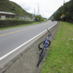 強風の中コケずにゴール:バーニョスからサイクリング