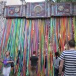 ルブリンの旧市街がアートに包まれた夜